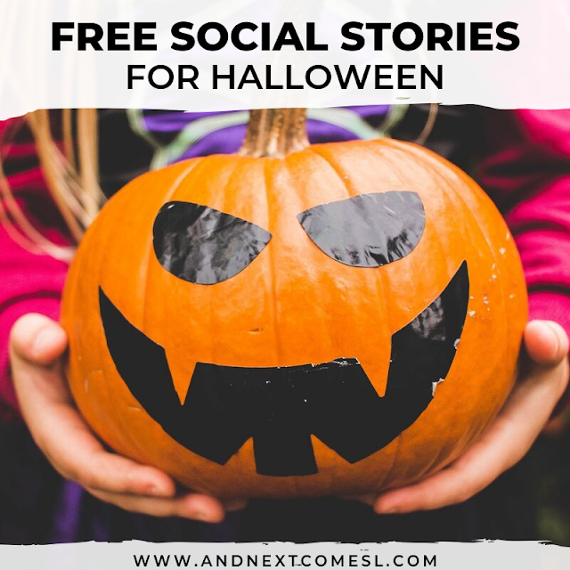 Halloween social stories
