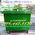 Thùng rác 1000 lít nhựa composite - Xe rác 1000 lít 4 bánh xe nhựa composite giá sốc – khuyến mãi lớn call 0984423150 – Huyền