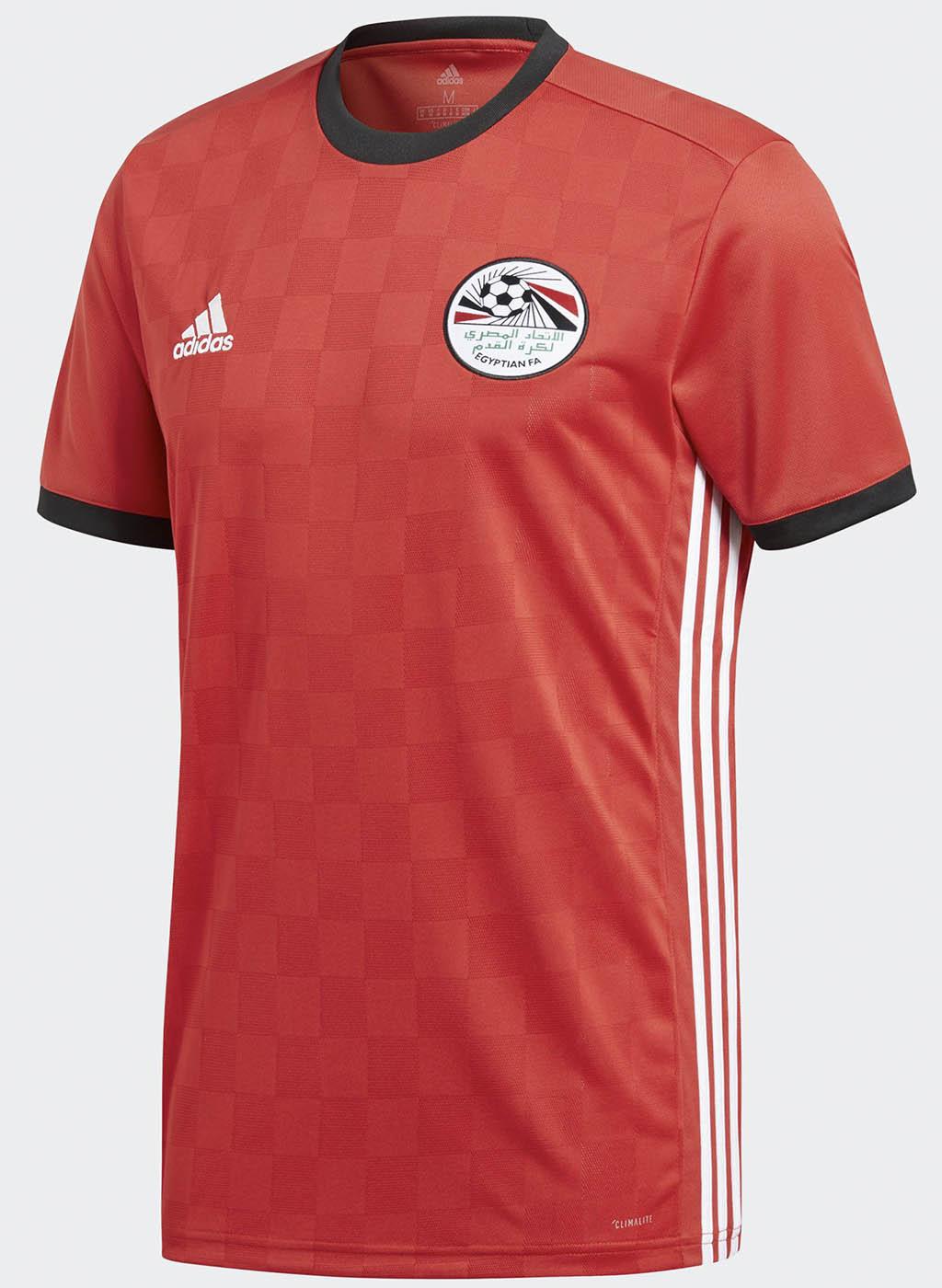 Maglia home dell'Egitto targata Adidas per il 2018 | numerosette.eu