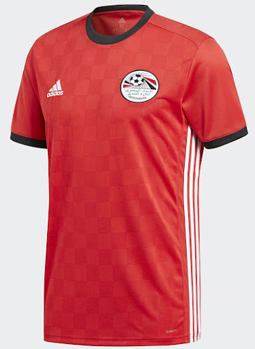 d6a15e8bb Egypt s 2018 World Cup jersey is a modern interpretation of one of the  country s most famous jerseys