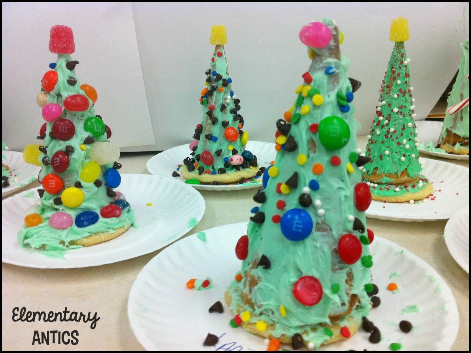 Edible Christmas Trees - Elementary Antics