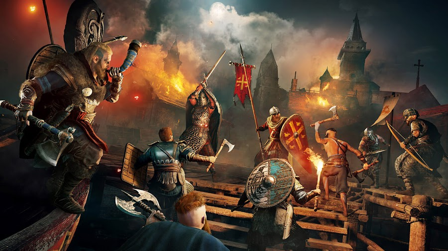 assassin's creed valhalla assault strongholds raids gameplay overview viking eivor pc ps4 ps5 xb1 xsx eivor action-adventure stealth game ubisoft