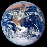 Famosa foto da Terra tirada do espaço segundo a NASA