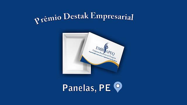 PRÊMIO DESTAK EMPRESARIAL 2019 - Panelas, PE