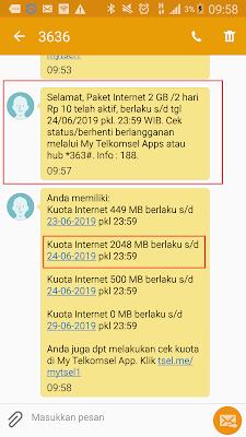 Cara Mendapatkan Kuota Internet Terbaru dari Telkomsel Hanya Rp10
