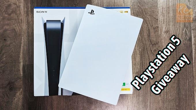 Sorteio PlayStation 5 + Skin de vinil