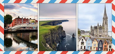 Figure: The green island, the green country where good luck is hidden! Where can you find these beautiful places