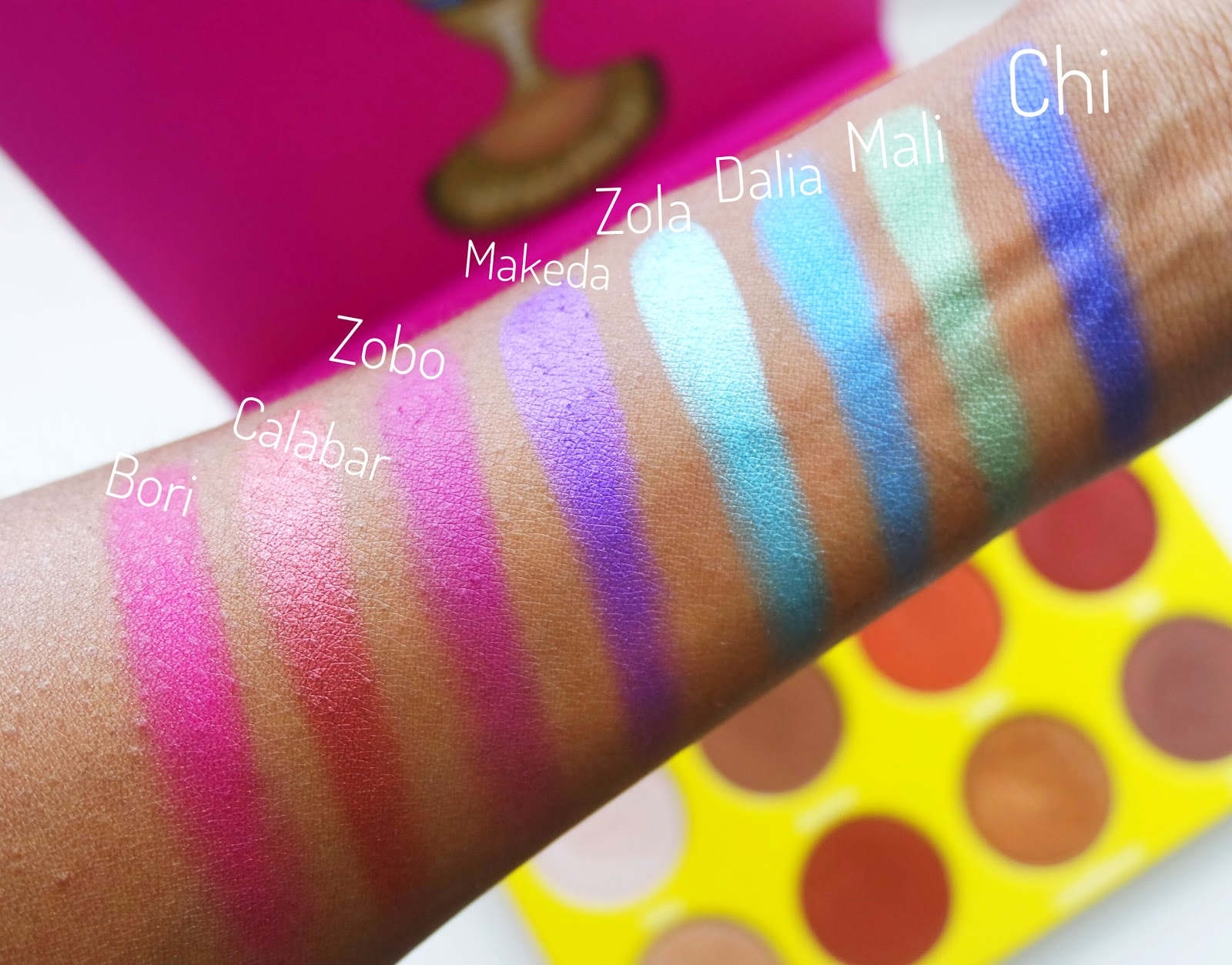 Juvia's Place Masquerade Palette Review + Swatches