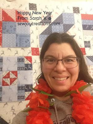 new years selfie sarah v