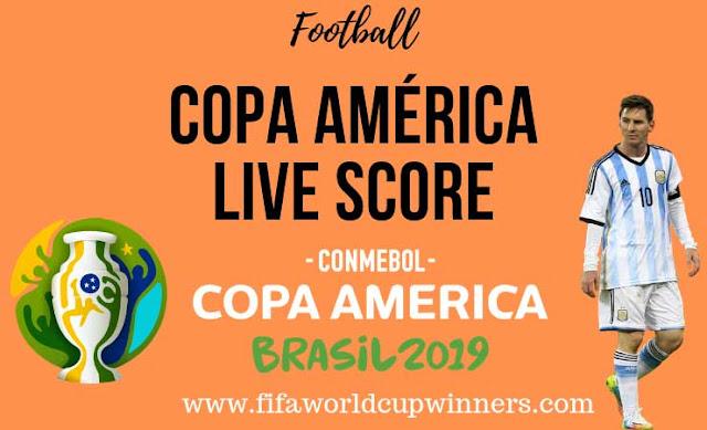 Copa América Live Score | Copa America Final | Copa América Schedule