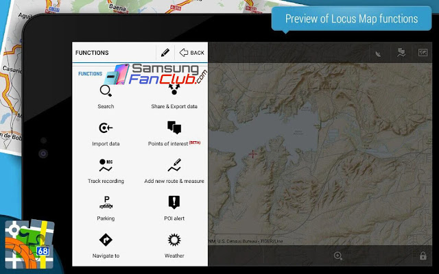 Locus Map Pro Outdoor GPS Navigation Maps for Android Samsung S10 & Note 10