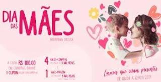 Promoção Shopping Fiesta Dia das Mães 2019 - Concorra Viagem e Vale-Compras
