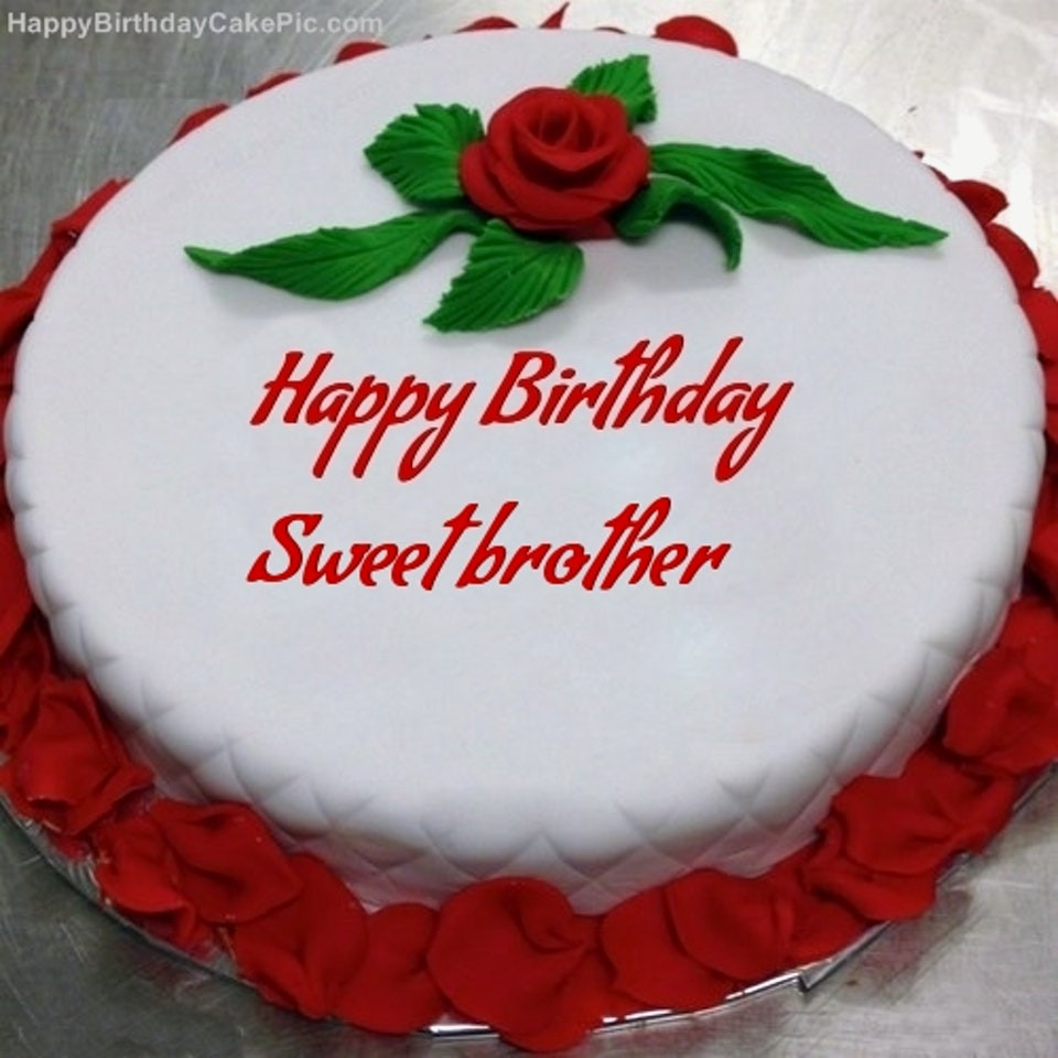 Birthday Cake Wishes for Brother - Free HD Wallpapers
