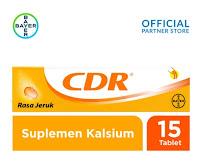 CDR Suplemen Kalsium Rasa Jeruk 15 Tablet