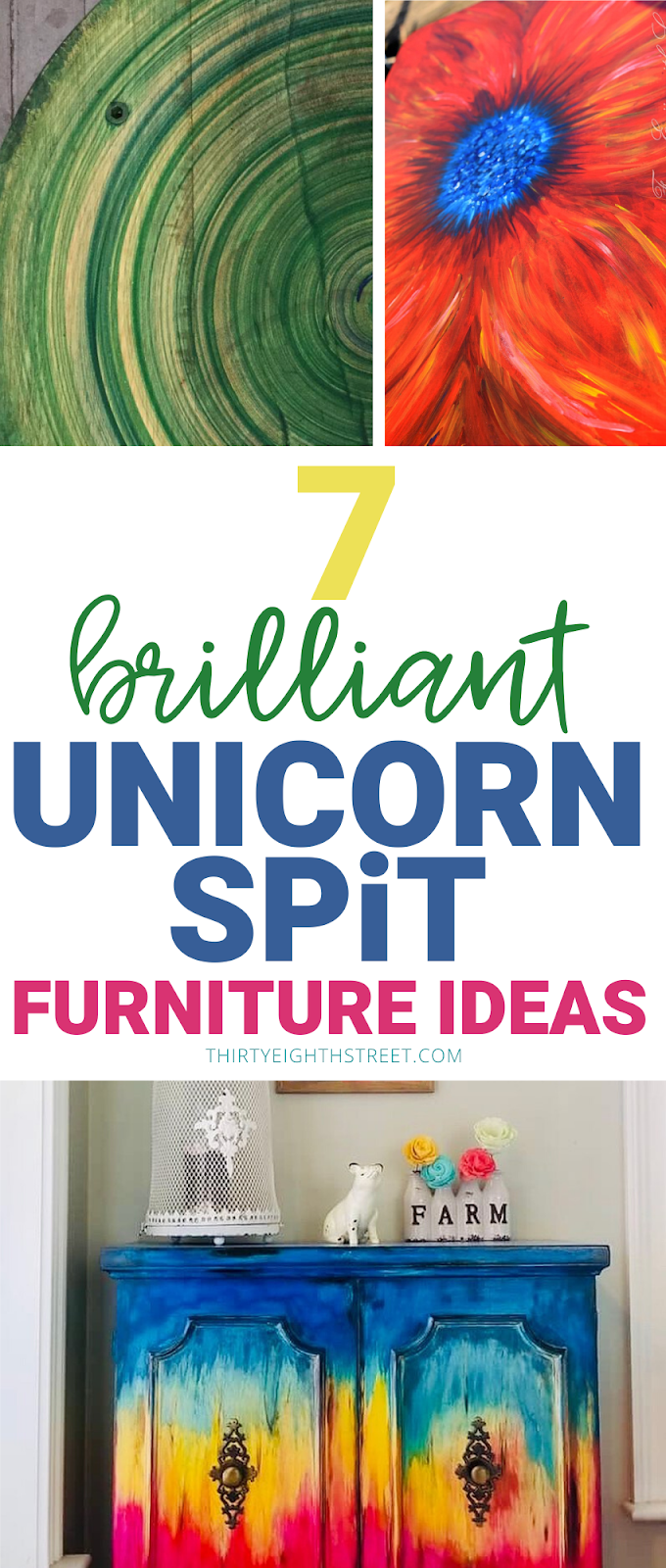 unicorn spit, unicorn spit stain, how to use unicorn spit, unicorn spit furniture ideas, unicorn spit furniture makeovers