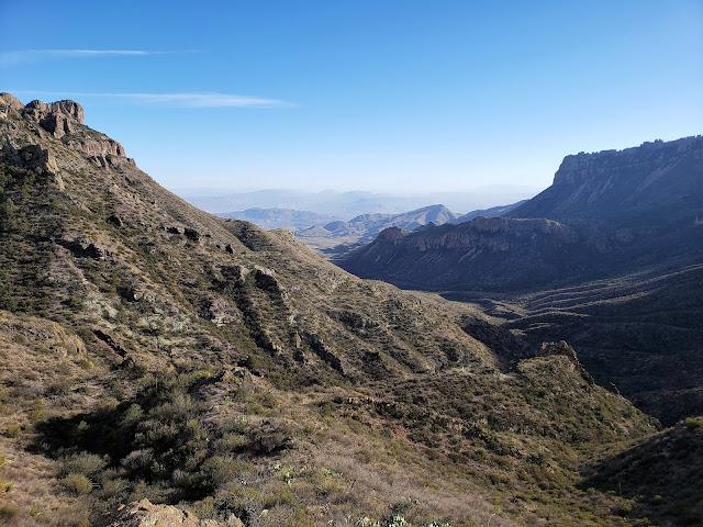 lost mine trail big bend national park texas