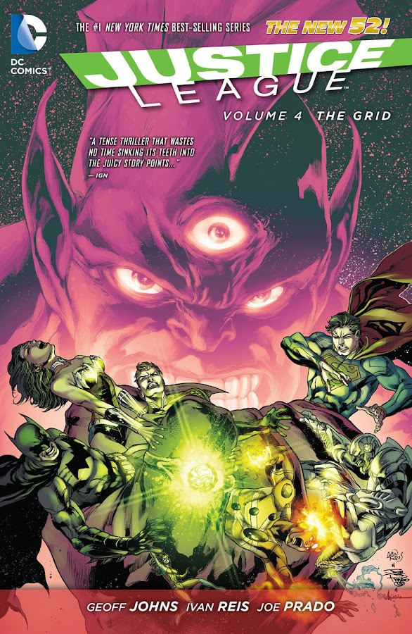 justice league dc comics new 52 the grid