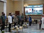Silaturahmi Forkopimda, Alim Ulama, Danrem 061/SK; Ajak Perkokoh Persatuan dan Kesatuan Bangsa