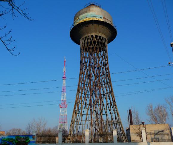 Николаев. Водонапорная башня Шухова