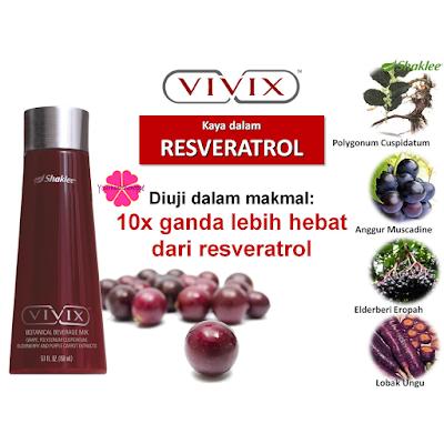 Vivix, Shaklee, antioksidan, antipenuaan, rahsia awet muda, rahsia kulit cantik, cara mencegah kanser, cara sembuhkan luka pembedahan, cara sembuhkan luka selepas bersalin,