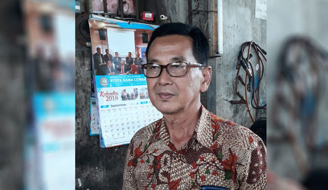 Drs. H. Hartono, MM, dosen di STIE Widya Gama