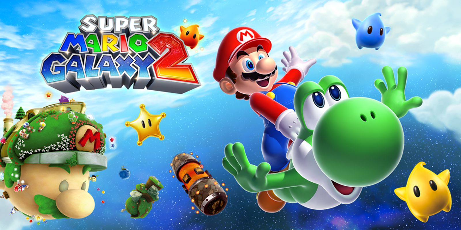 Free download game Super Mario Galaxy 2