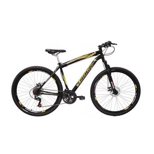 Bicicleta Track & Bikes TB Niner Mountain Aro 29 21 marchas Dupla Suspensão Preta