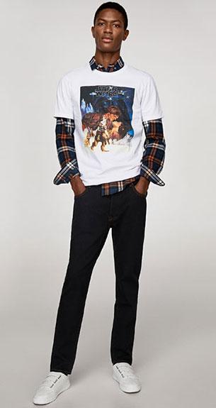 camisetas Star Wars Zara hombre