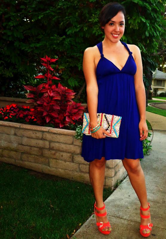 Color To Match Royal Blue Dress