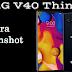Cara Screenshot pada LG V40 ThinQ dengan mudah