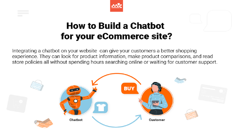 Ecommerce chatbot #Infographic