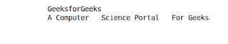 penggunaan tag pre pada html untuk membuat kutipan teks