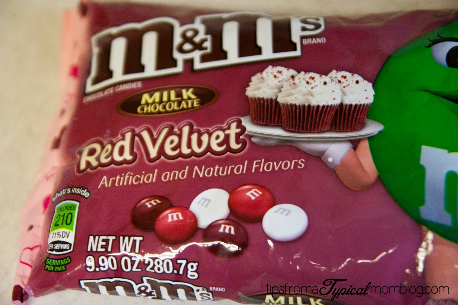 Red Velvet Cake Mix M&M Cookies - Tips from a Typical Mom