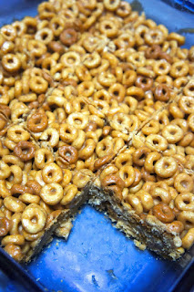 Peanut Butter and Honey Cereal Bars: Savory Sweet and Satisfying