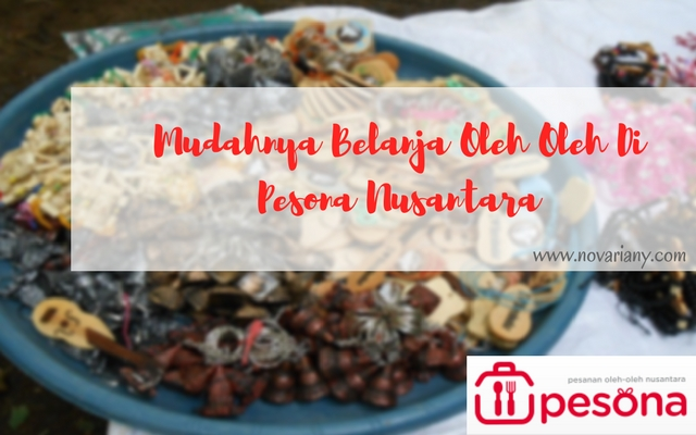 Belanja Oleh Oleh Di Pesona Nusantara