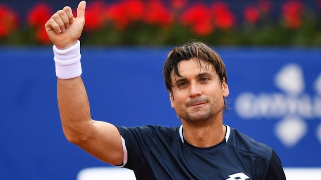 Nadal Hails Ferrer as he retires in Barcelona
