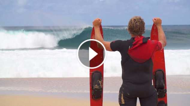 Who is JOB 5 0 - Giant Barrels on Water Skis and Sharks Cove Surfing - Ep 4