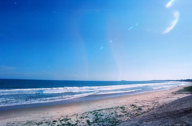 Bãi biển dài đẹp tại căn hộ Ray River Residence Hồ Tràm Vũng Tàu