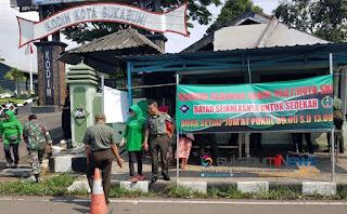 Kodim 0607 Kota Sukabumi membuka Kantin (Warung) Sedakah yang di beri nama Kantin Barokah.