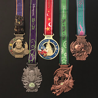 medailles DLP Magic Run 2018