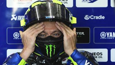 Valentino Rossi Positip Covid-19