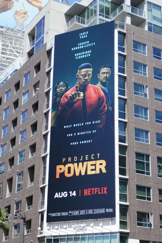 Project Power movie billboard