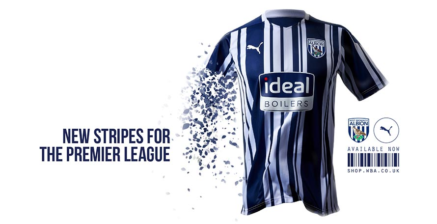 West Bromwich Albion 20 21 Premier League Home Kit Released Footy Headlines