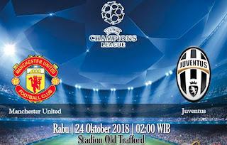 Prediksi Manchester United VS Juventus 24 Oktober 2018