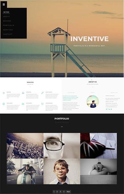 Inventive-Blogger-Template-Free-Download