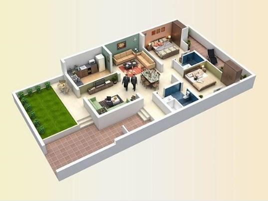 Contoh Desain Denah Rumah Minimalis Terbaru 2020 Addwin Info