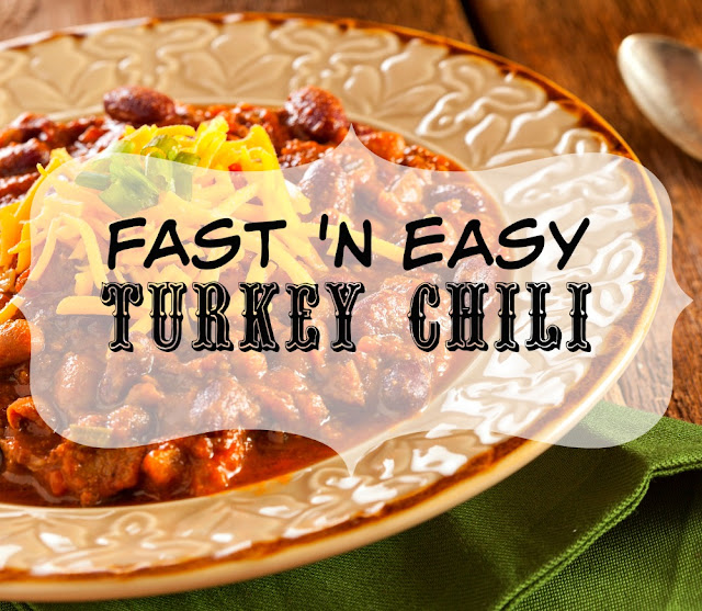 Make this delicious, fast and easy chili with either turkey or beef. The secret ingredient makes it fabulous, either way!