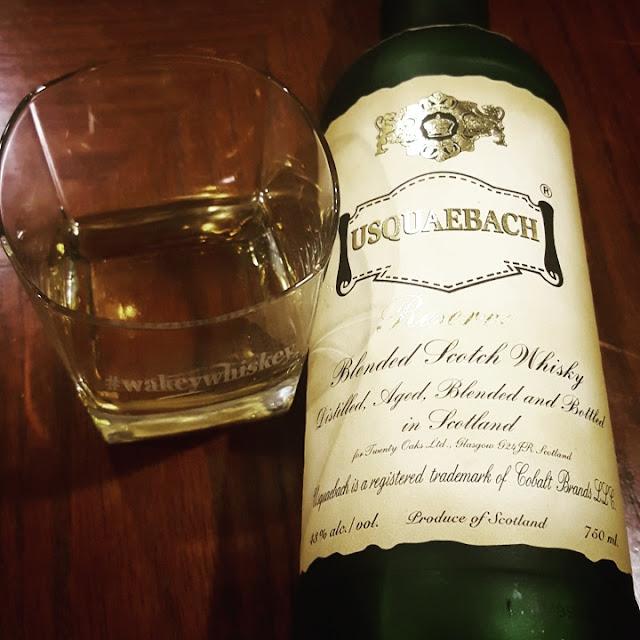 Usquaebach Reserve - Wakey Whisky