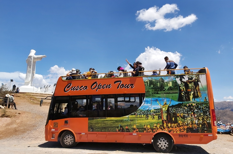 ônibus Turístico de Cusco
