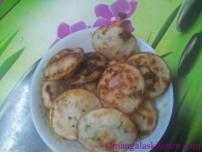 Millet Kaara Paniyaram | Thinai Kuthiravalli Kuzhipaniyaram | Spicy Nutritious Evening Snack Recipe